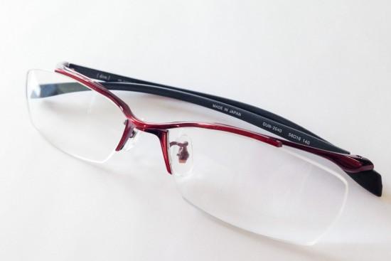 ゴムメタル用途(眼鏡)