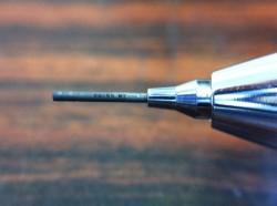 シャーペン芯へのマーキング