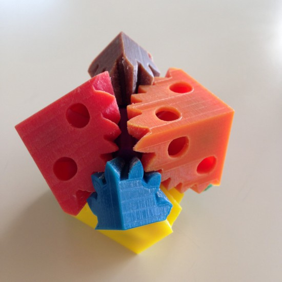 3Dプリンター出力例